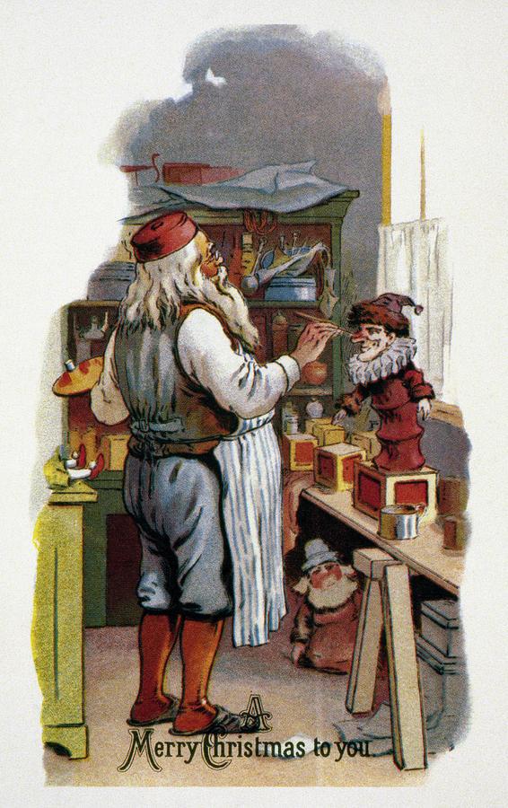 American Christmas Card Photograph