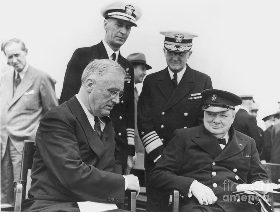 Franklin Delano Roosevelt Photograph