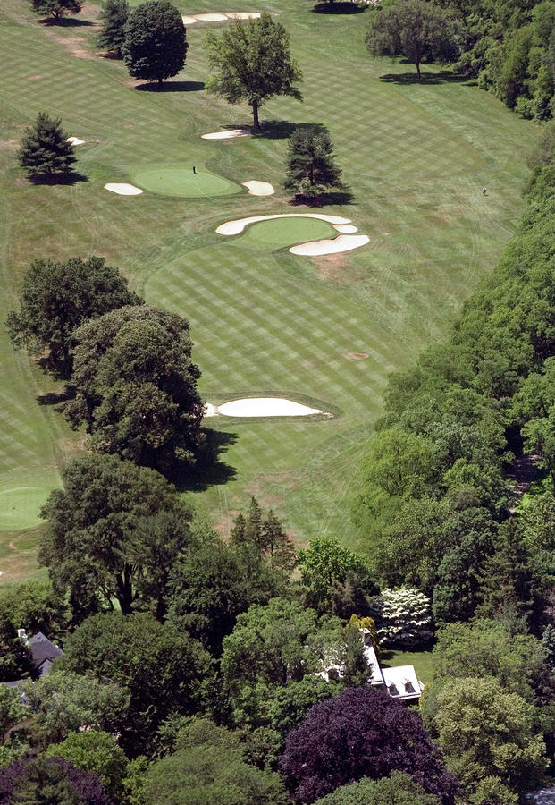 2nd Hole Philadelphia Cricket Club St Martins Golf Course Photograph