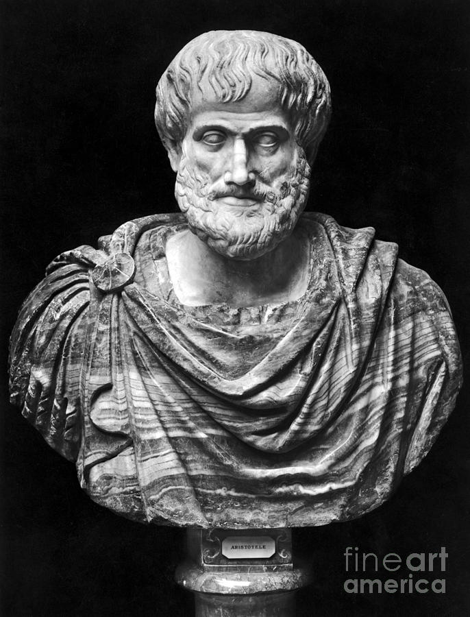 Aristotle (384-322 B.c.) Photograph