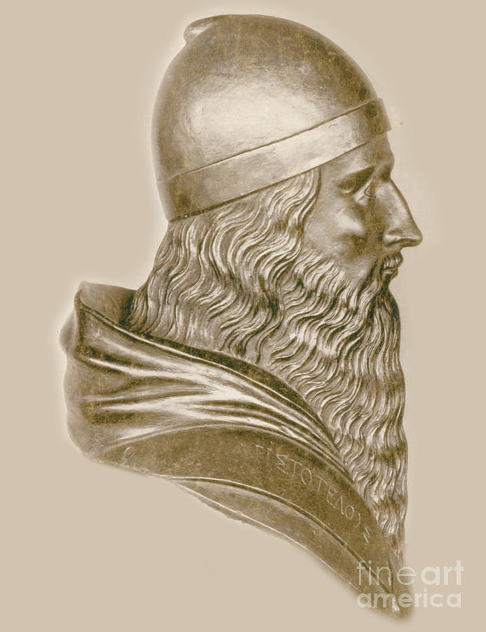 Aristotle, Ancient Greek Philosopher Photograph