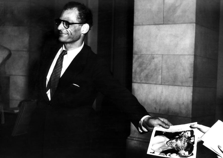 Arthur Miller, 1915-2005, American Photograph