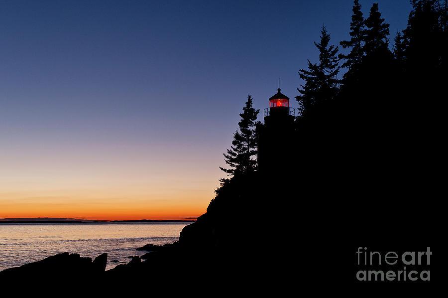 Bass Harbor Lighthouse Photograph