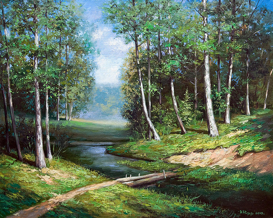 Beauty of nature painting by vladimir misyts for Artiste nature