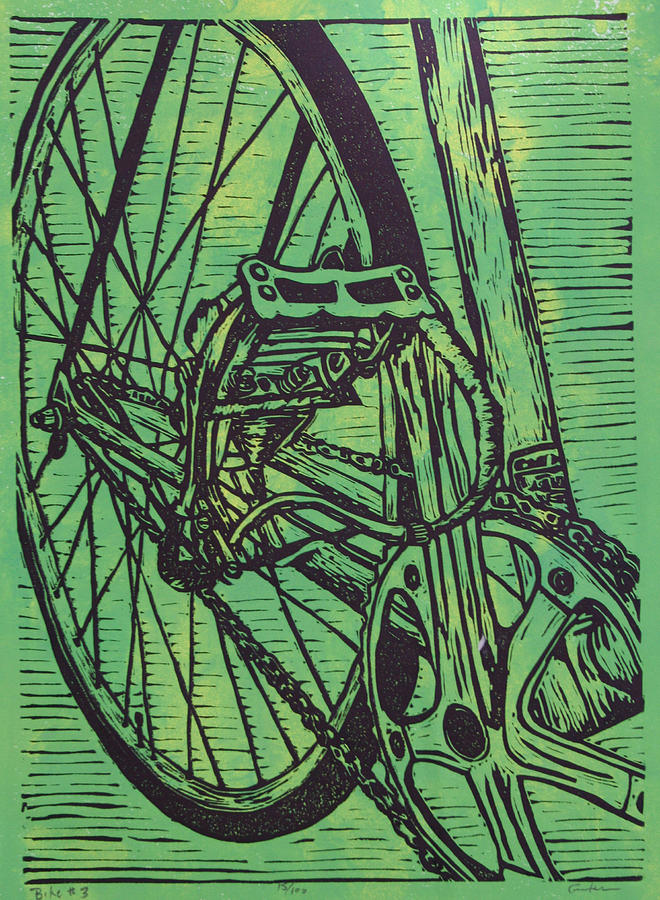 Bike 3 Drawing