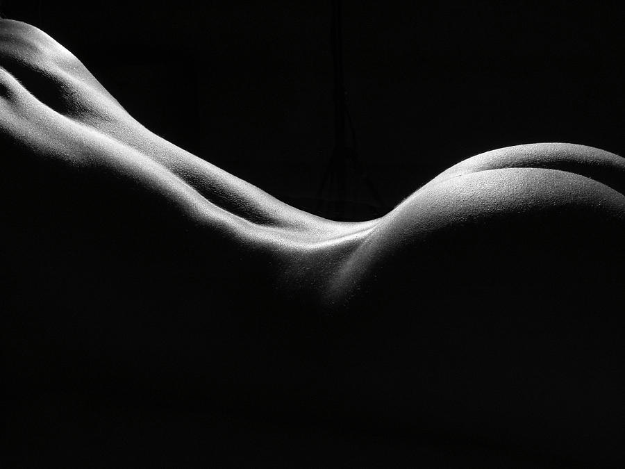 Black And White Nude Photograph  - Black And White Nude Fine Art Print