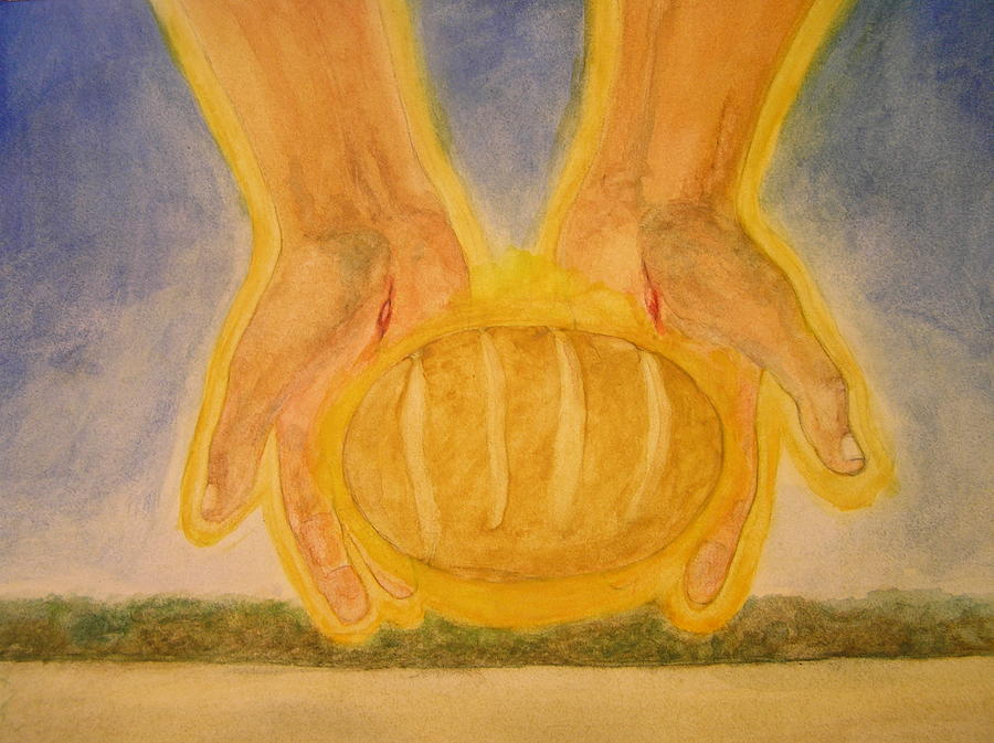 Bread From Heaven Painting  - Bread From Heaven Fine Art Print