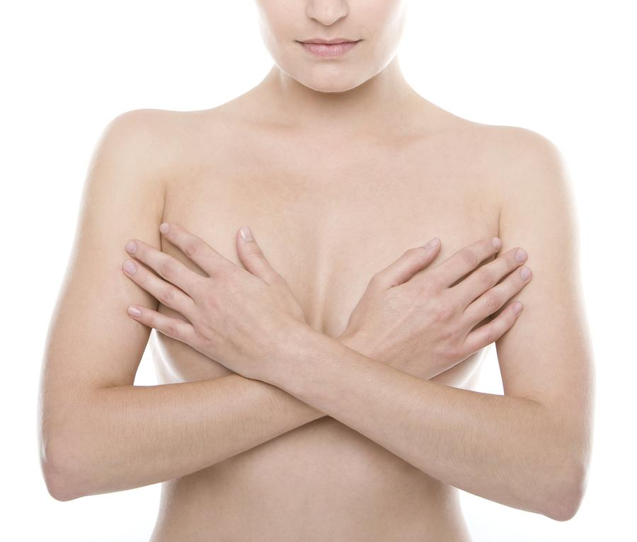 20s Photograph - Breast Self-examination by