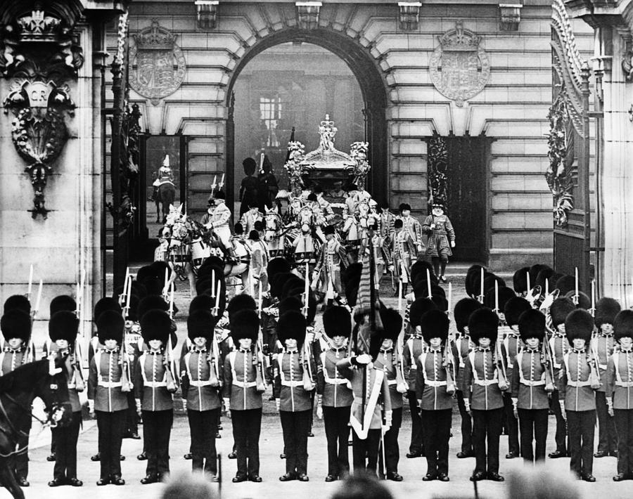 British Royalty. Coronation Procession Photograph  - British Royalty. Coronation Procession Fine Art Print