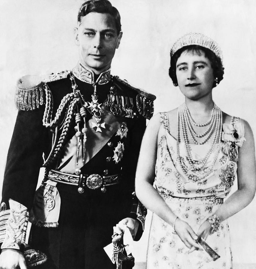 British Royalty. King George Vi Photograph  - British Royalty. King George Vi Fine Art Print