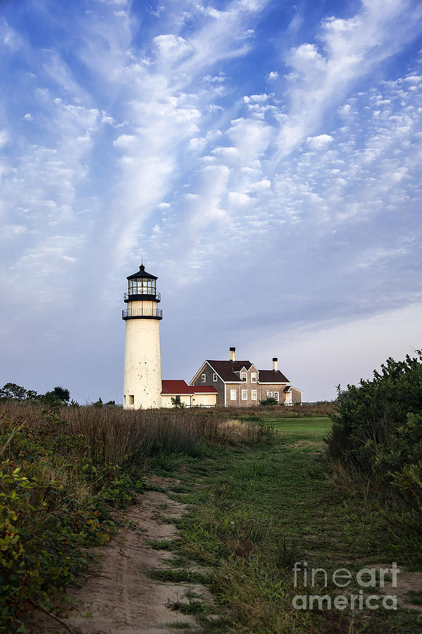 Cape Cod Light Photograph  - Cape Cod Light Fine Art Print