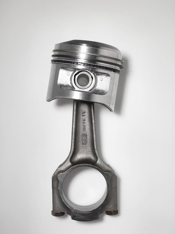 Car Engine Piston Photograph By Tek Image