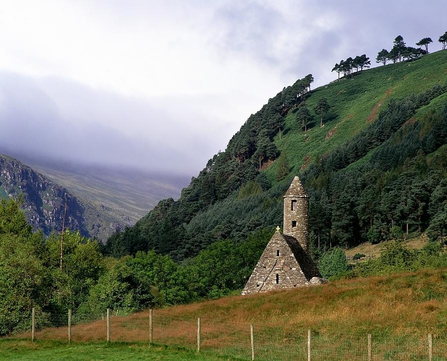 Chapel Of Saint Kevin At Glendalough Photograph