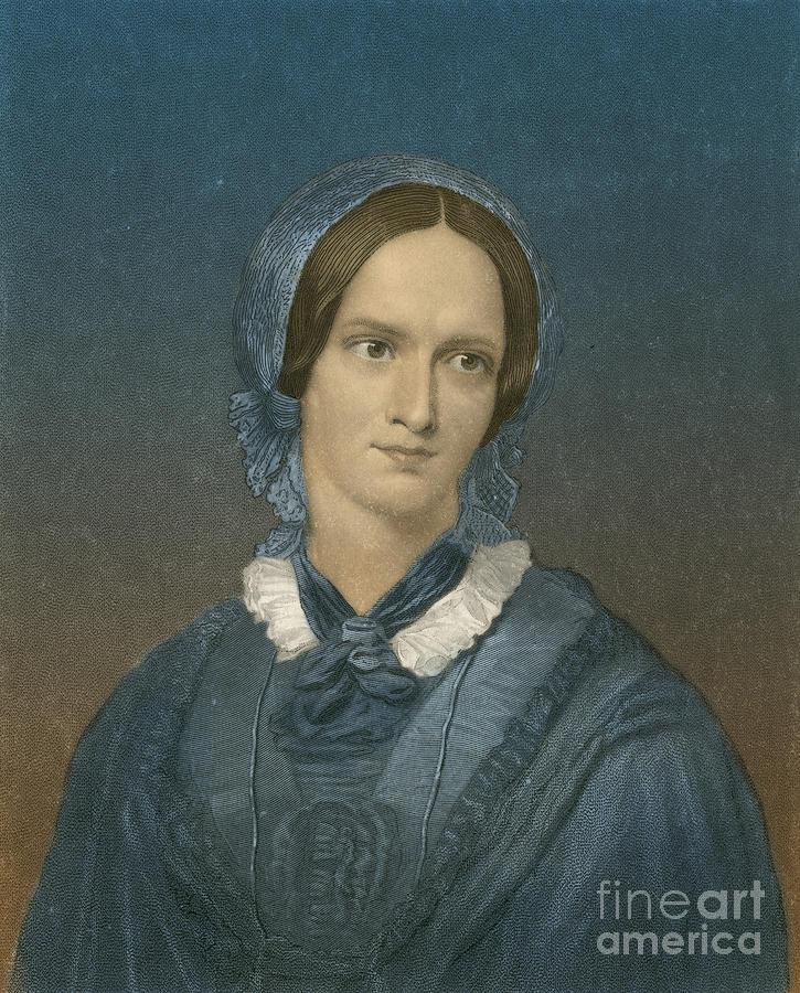 Charlotte Bronte, English Author Photograph