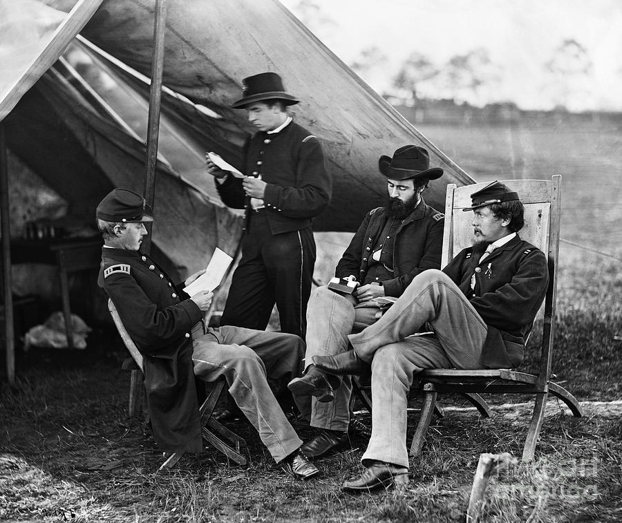 Civil War: Union Officers Photograph