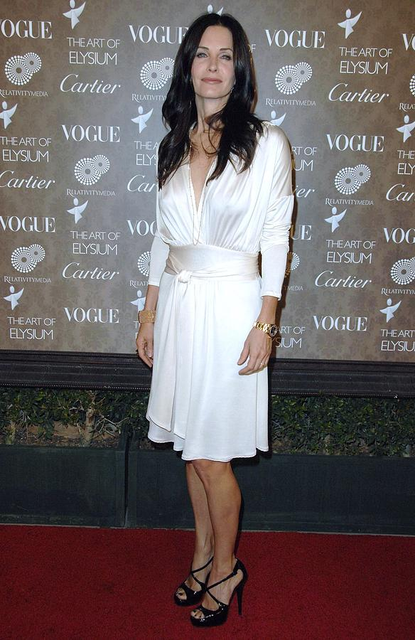 The Art Of Elysium 2nd Annual Black Tie Gala Photograph - Courteney Cox Arquette At Arrivals by Everett