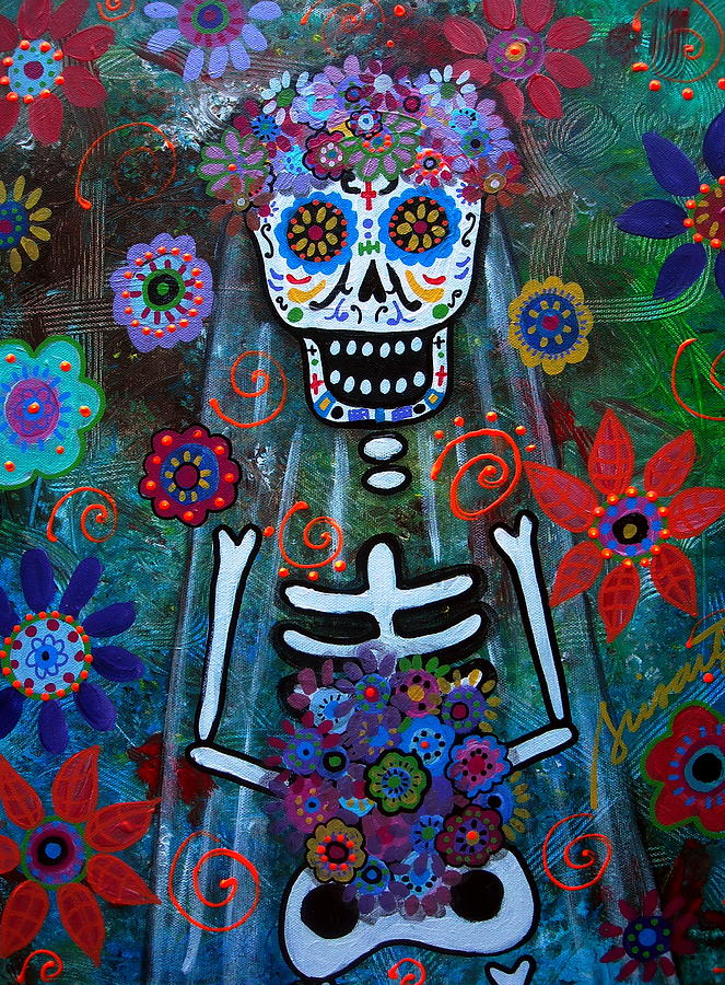 Day Of The Dead Bride Painting