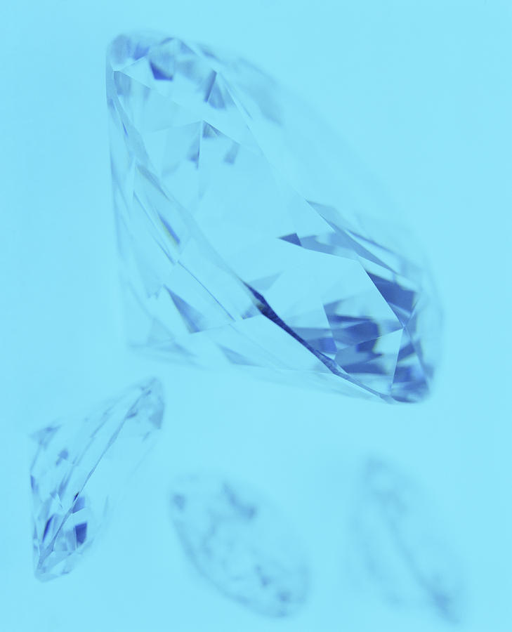 Diamonds Photograph  - Diamonds Fine Art Print