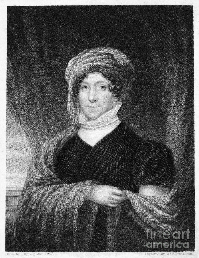 1836 Photograph - Dolley Madison (1768-1849) by Granger
