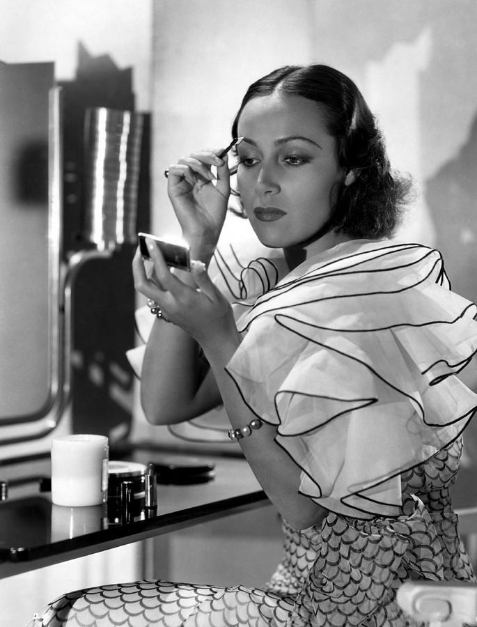 1930s Candid Photograph - Dolores Del Rio, Ca. 1930s by Everett