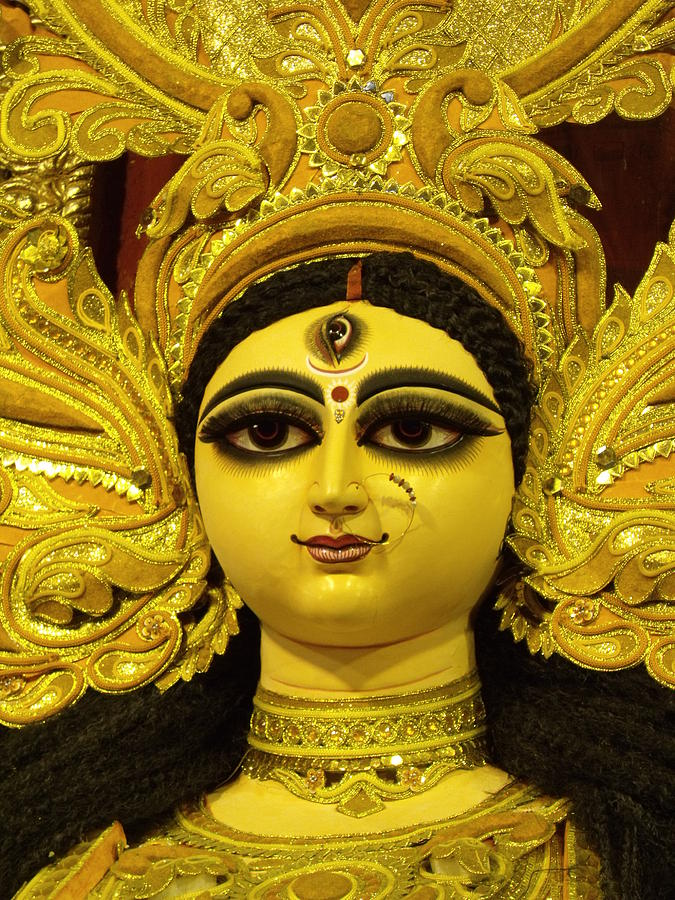 Durga Goddess 2012 Photograph