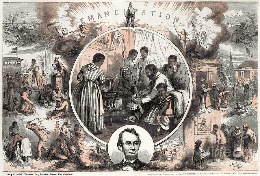 Emancipation Proclamation Photograph  - Emancipation Proclamation Fine Art Print