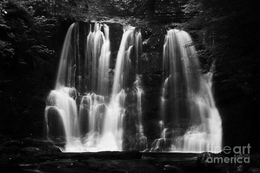 Ess-na-crub Waterfall On The Inver River In Glenariff Forest Park County Antrim Northern Ireland Uk Photograph