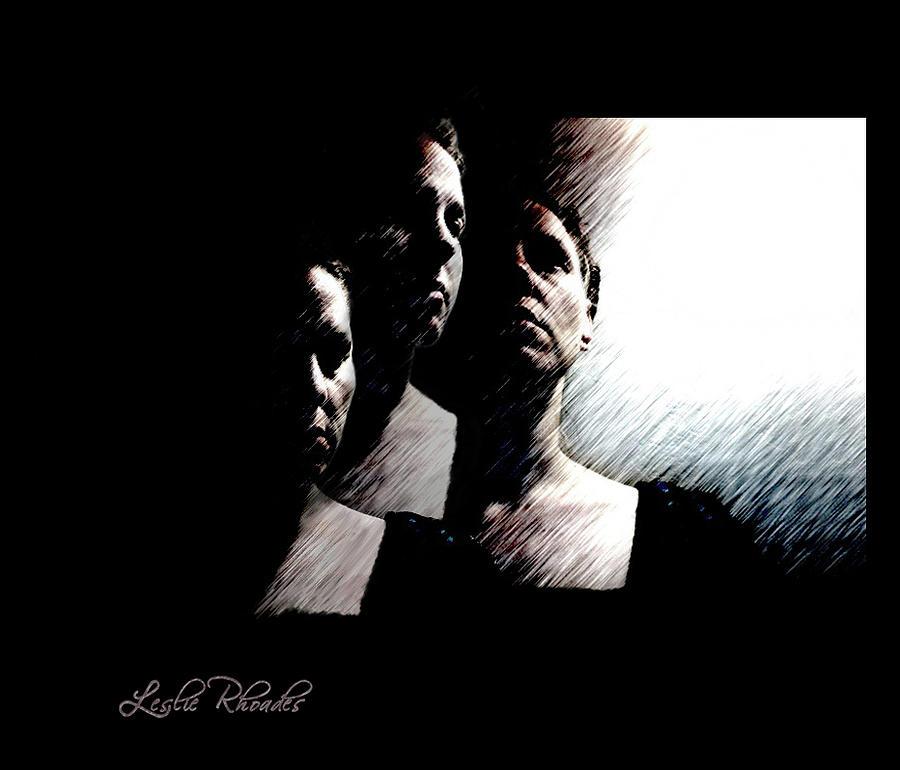 3 Faces Of Me Digital Art