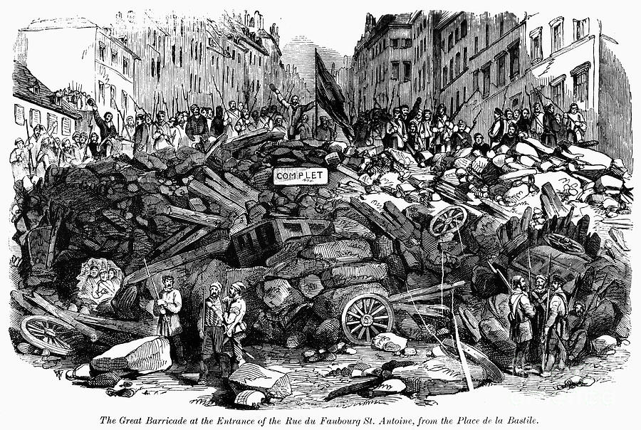 France: Revolution, 1848 Photograph  - France: Revolution, 1848 Fine Art Print