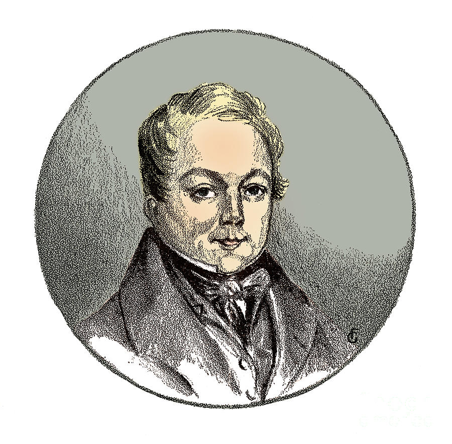 Science Photograph - François Magendie, French Physiologist by Science Source