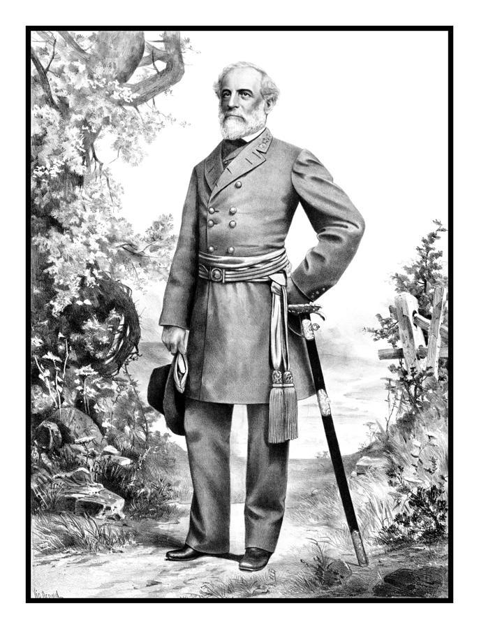 General Robert E. Lee Painting
