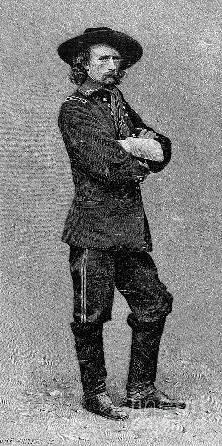 George Custer (1839-1876) Photograph