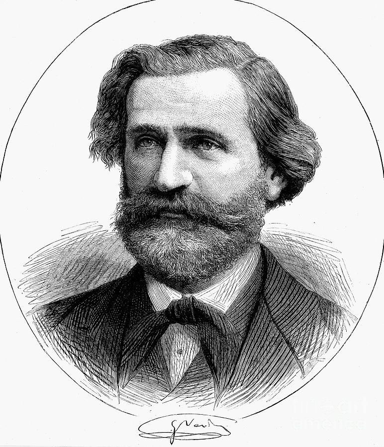 <b>...</b> <b>Giuseppe Verdi Giuseppe verdi</b> portrait canvas <b>...</b> - 3-giuseppe-verdi-1813-1901-granger