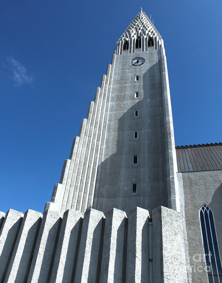 Hallgrimskirkja Church - Reykjavik Iceland  Photograph