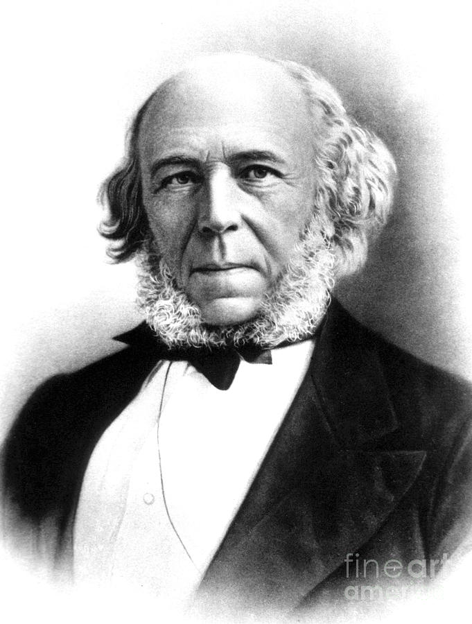 Herbert Spencer, English Polymath Photograph