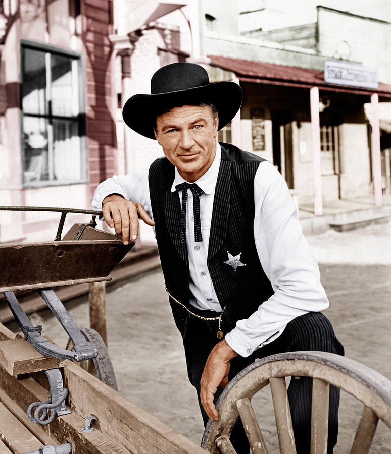 High Noon, Gary Cooper, 1952 Photograph  - High Noon, Gary Cooper, 1952 Fine Art Print