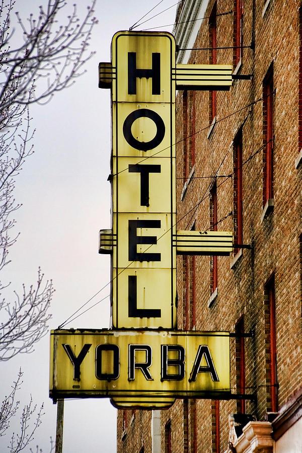 Hotel Yorba Photograph