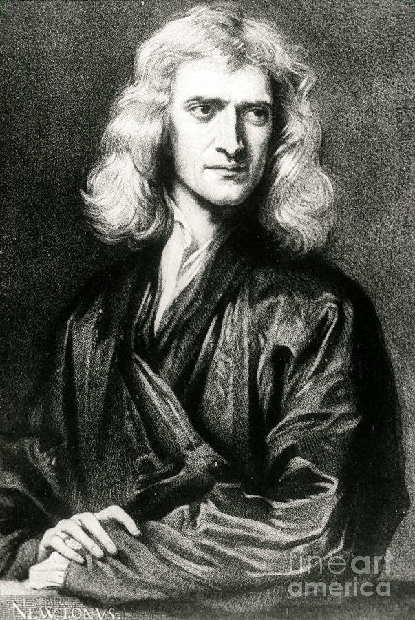 Isaac Newton, English Polymath Photograph