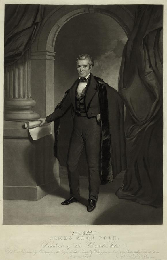 James Polk 1795-1849 President Photograph