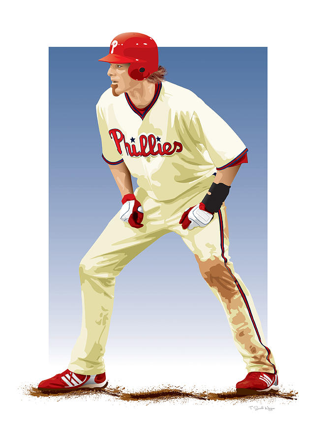 Jayson Werth Digital Art  - Jayson Werth Fine Art Print