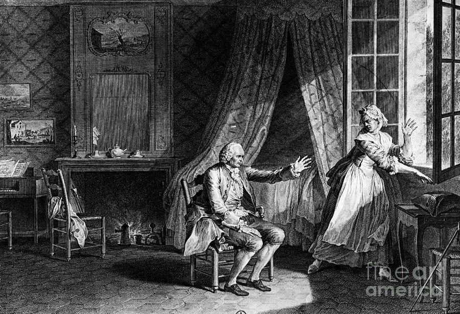 18th Century Photograph - Jean Jacques Rousseau by Granger