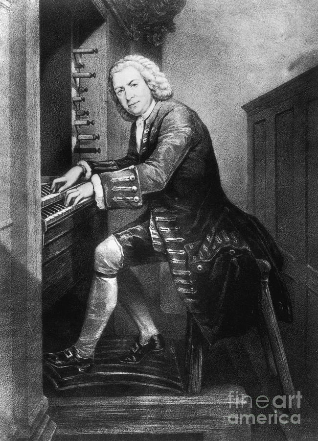 Johann Sebastian Bach, German Baroque Photograph