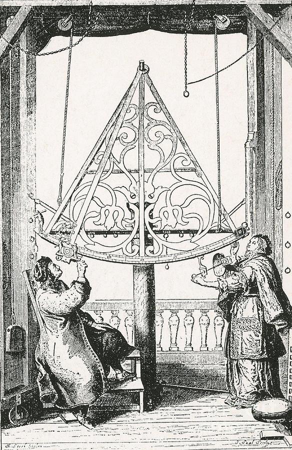 Johannes Hevelius, Polish Astronomer Photograph