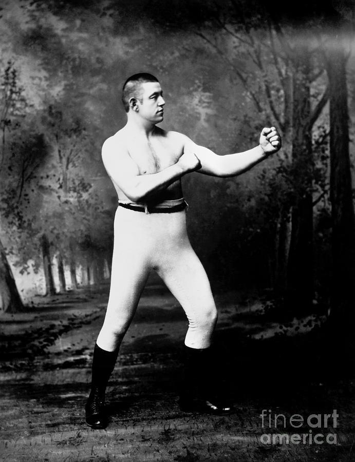 John L. Sullivan (1858-1918) Photograph