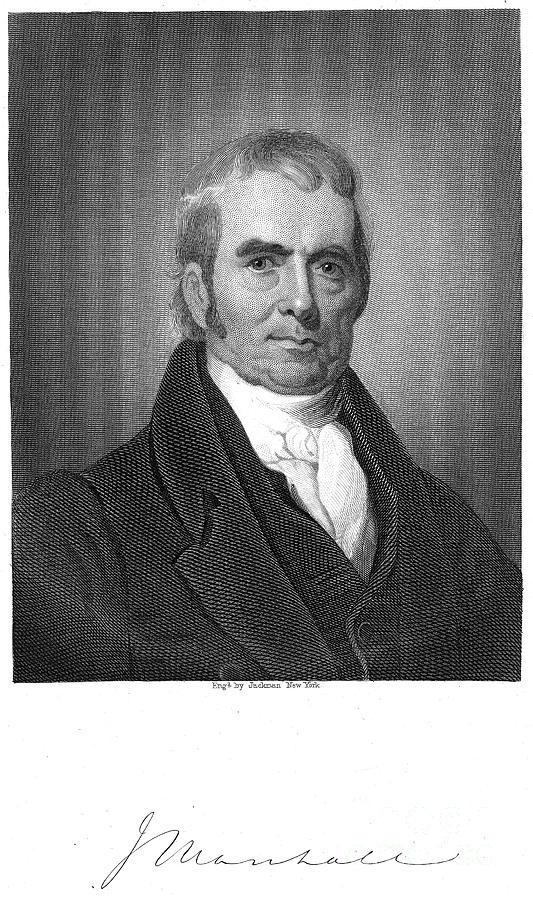 19th Century Photograph - John Marshall (1755-1835) by Granger