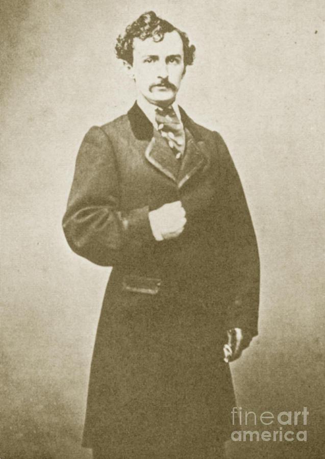 John Wilkes Booth, American Assassin Photograph