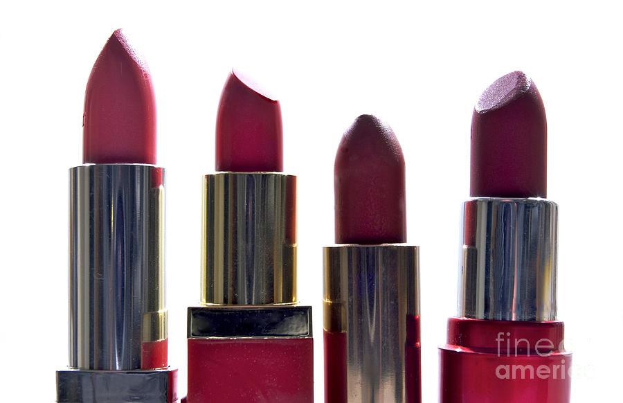 Lipsticks Photograph