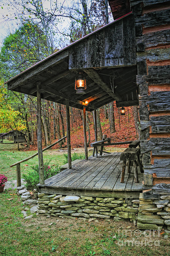 Log home renfro valley ky photograph by anne kitzman for Minimalist rustic house