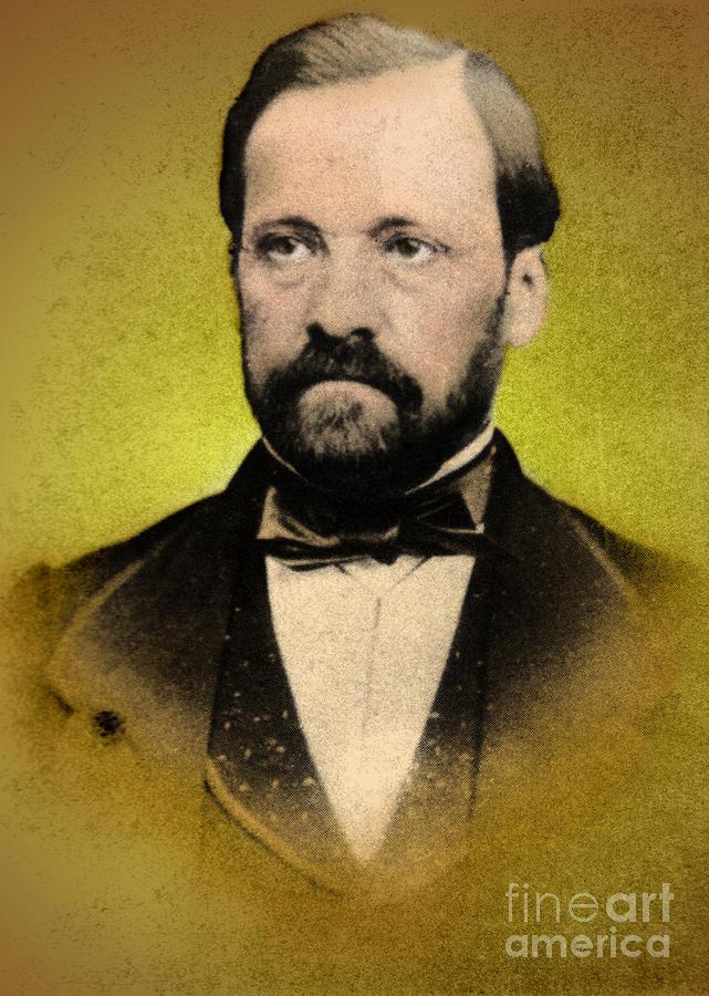 Louis Pasteur, French Chemist Photograph