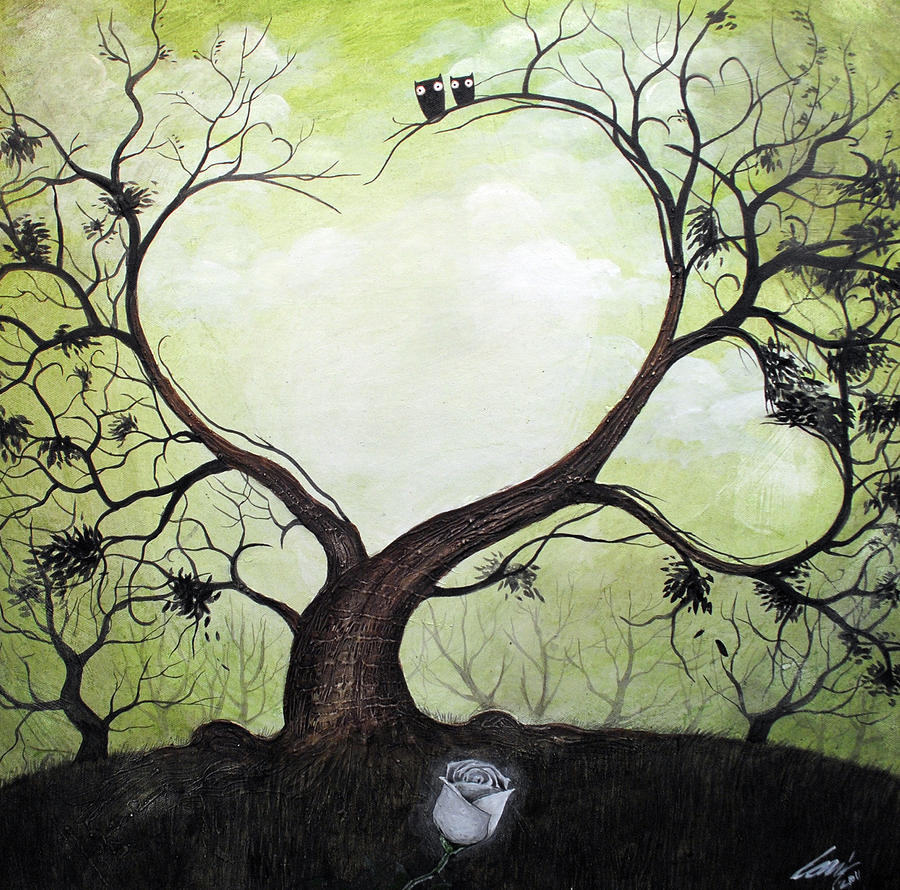 Love Tree Painting